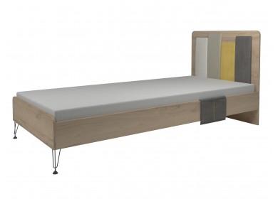 Кровать с мягкой спинкой Александрия