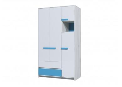 Шкаф трехдверный Бриз