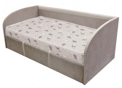 Кровать-тахта с подъемным механизмом Стиль Кофе