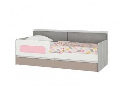 Кровать-тахта Зефир розовый