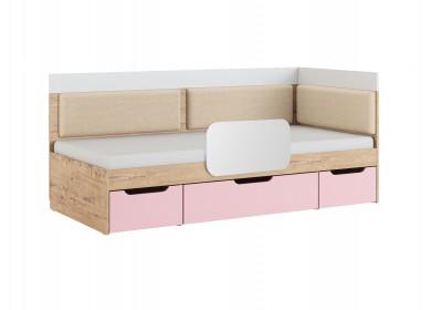 Кровать угловая Дублин Роуз