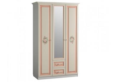 Шкаф трехдверный с ящиками Алиса
