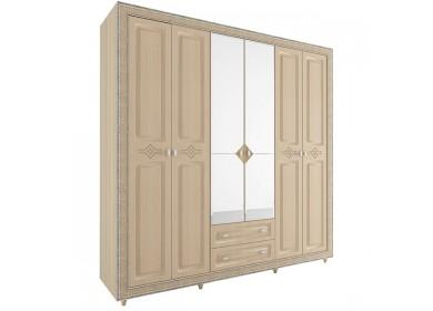 Шкаф 6 дверный Калипсо Туя