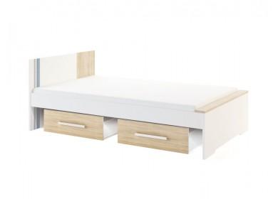 Кровать Лион с ящиком выкатным 1,2