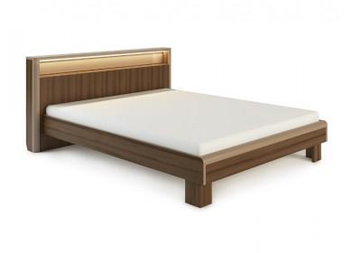 Кровать с подсветкой Оливия Дезира темный