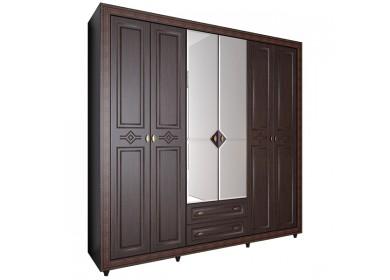 Шкаф 6 дверный Калипсо Венге