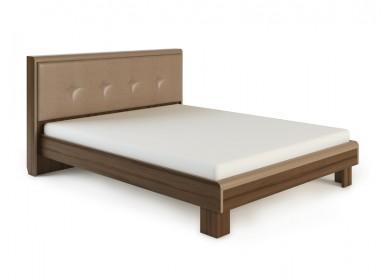 Кровать с мягкой спинкой Оливия Дезира темный