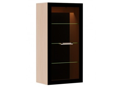 Шкаф навесной с подсветкой Сенатор Дуб Савона