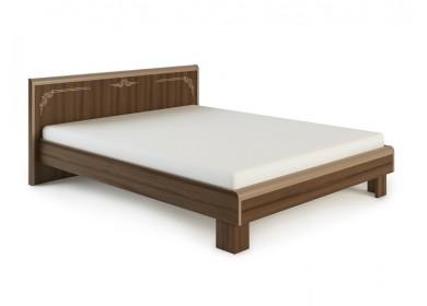 Кровать Оливия МДФ Дезира темный