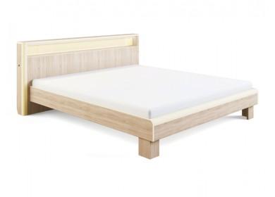 Кровать с подсветкой Оливия Дуб сонома