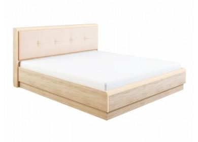 Кровать с мягкой спинкой Оливия с подъемным механизмом Дуб сонома