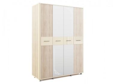 Шкаф четырехдверный Оливия Дуб сонома