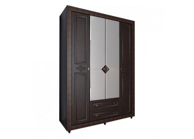 Шкаф четырехдверный Калипсо Венге