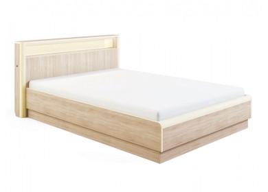 Кровать с подсветкой Оливия с подъемным механизмом Дуб сонома