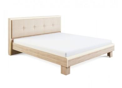 Кровать с мягкой спинкой Оливия Дуб сонома